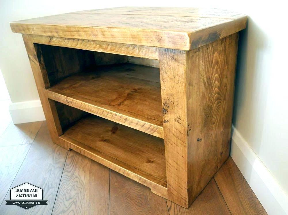 Pine Corner Tv Stand Pine Corner Stand Rustic Pine Corner Tv Cabinet Pertaining To 2018 Pine Tv Cabinets (View 11 of 20)