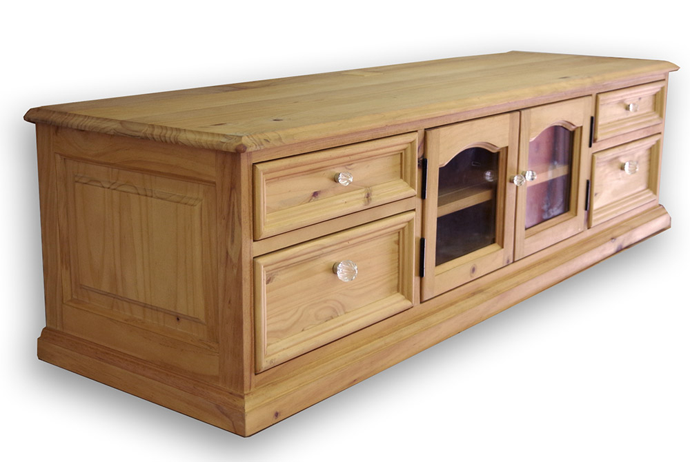 Pine Tv Stands With Regard To Preferred Auc Banjo: Country Tv Stand Country Furniture Pine Furniture Tv (View 13 of 20)