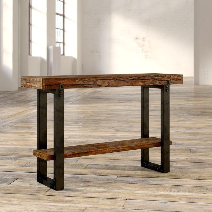 Pinterest Intended For Best And Newest Parsons Grey Solid Surface Top & Dark Steel Base 48X16 Console Tables (View 18 of 20)