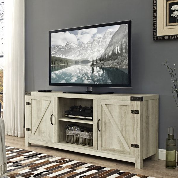 Pinterest Throughout Most Recently Released Noah Rustic White 66 Inch Tv Stands (View 7 of 17)
