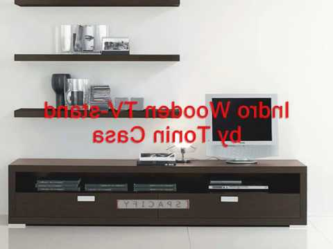 Plasma Tv Stands Throughout Latest Modern Wood Tv Stands, Contemporary Plasma Tv Stand (View 13 of 20)