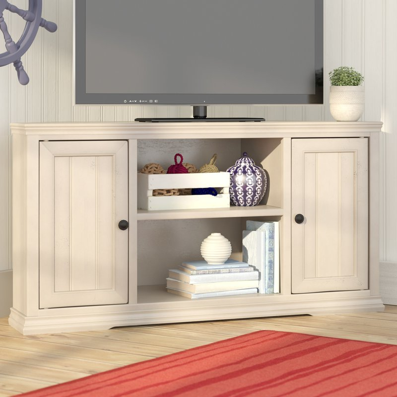 Pleasant Design 50 Corner Tv Stand Helene Tv Beachcrest Home Reviews For Most Up To Date Wayfair Corner Tv Stands (View 9 of 20)