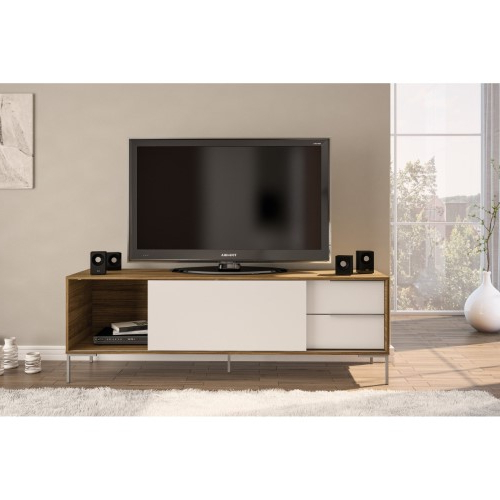 Polifurniture Denver Tv Stand, Brown (View 9 of 20)