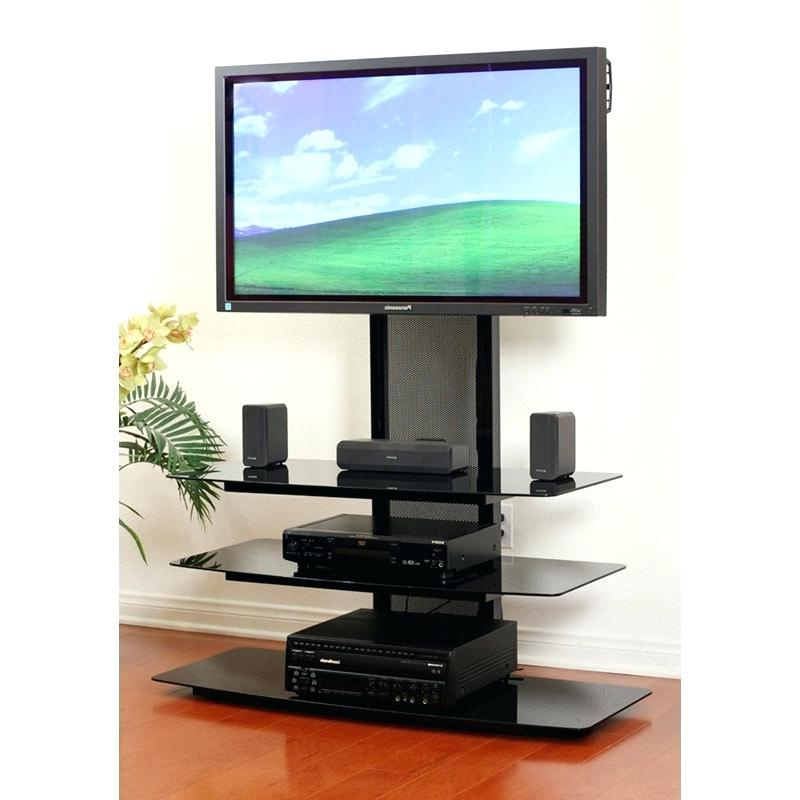 Popular Cheap Corner Tv Stands For Flat Screen Inside Wood Tv Stand For 55 Inch Tv Living Stand Black Oak Cheap Stands For (View 15 of 20)