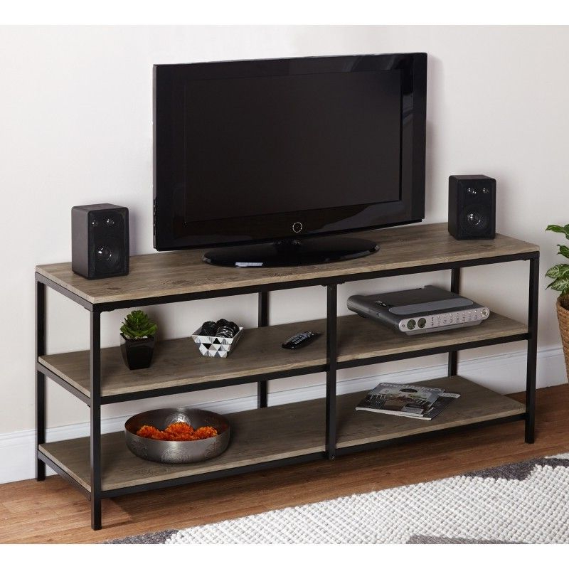 Popular Comet Tv Stands For Black Metal Tv Stand – Foter (View 4 of 20)