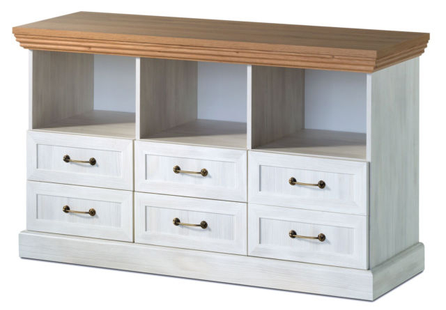 Popular Devonshire White Ash And Oak Tv Cabinet Stand Media Unit With Inside Oak Tv Stands (View 16 of 20)
