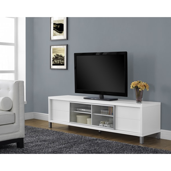 Popular Emerson Hills 74 Inch Tv Console White Tv Stands And Tv Consoles For Sinclair Grey 74 Inch Tv Stands (View 20 of 20)