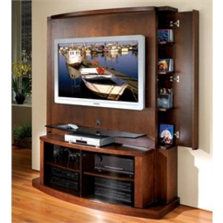 Popular Jsp Furniture Flat Panel / Flat Screen Tv Stand With Back Panel Within Tv Stands With Back Panel (View 12 of 20)
