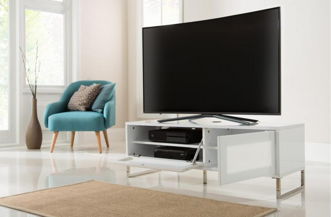 Popular Large White Tv Stands Intended For White Tv Stand Walmart Stands With Mount Small 60 Inch Long (View 16 of 20)