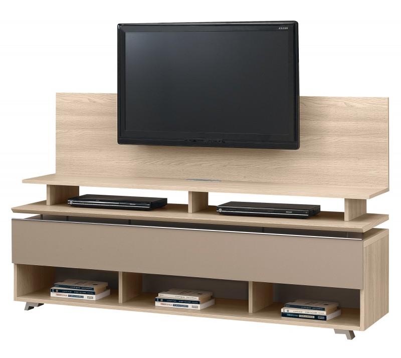 Popular Light Oak Tv Cabinets For Artigo Light Oak Tv Unit + Tv Stand (View 16 of 20)