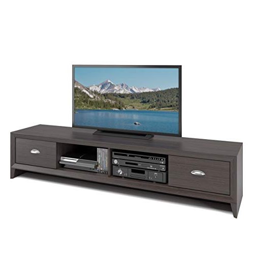 Popular Low Profile Contemporary Tv Stands With Regard To Low Profile Tv Stand: Amazon (View 17 of 20)