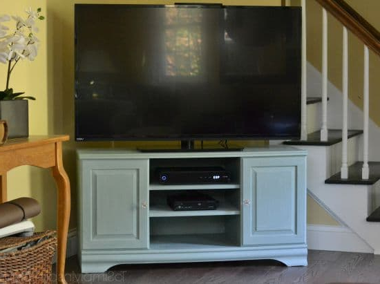 Popular Painted Tv Stands For Chalk Paint Tutorial – Tv Stand Makeover (View 3 of 20)