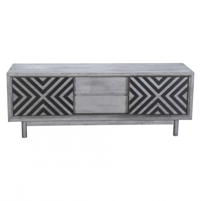 Popular Raven Grey Tv Stands For 100971 – Raven Tv Stand Old Gray (View 2 of 20)