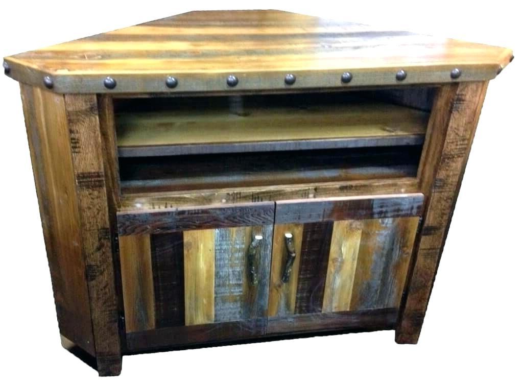 Popular Rustic Corner Tv Cabinets With Regard To Pine Corner Tv Stand Pine Corner Stand Rustic Pine Corner Tv Cabinet (View 7 of 20)
