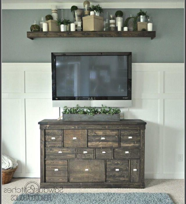 Popular Shelf Above Tv … (View 11 of 20)