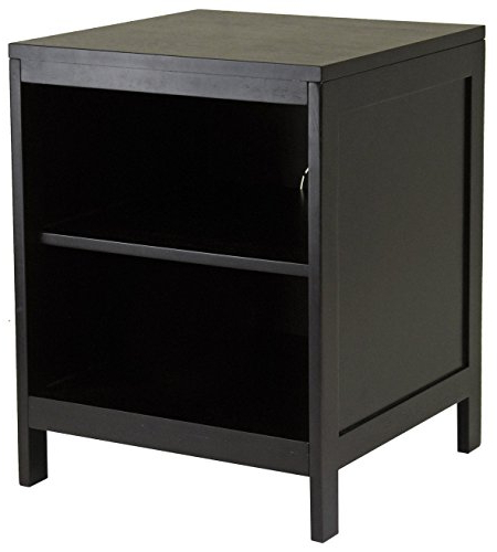 Popular Small Tv Stands Regarding Amazon: Winsome Wood Hailey Small Tv Stand: Kitchen & Dining (View 14 of 20)