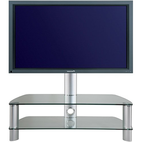 Popular Stil Stand 2053Chcl Glass Tv Stand With Swivel (View 7 of 20)