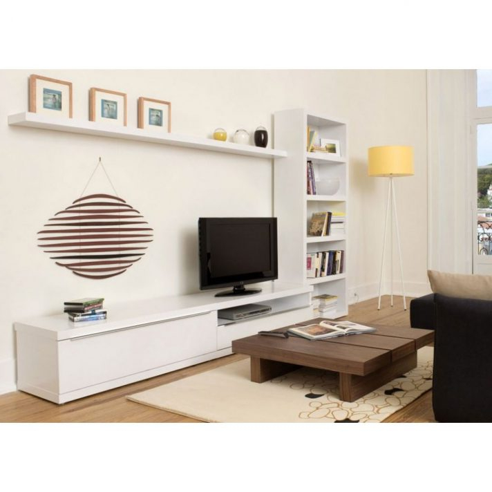 Popular Tv Console Minimalist Stand Ikea Modern Wood Low Profile Within Low Profile Contemporary Tv Stands (View 20 of 20)