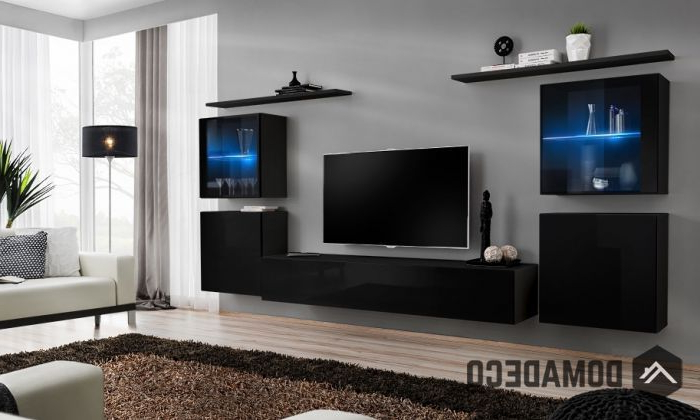 Popular Tv Entertainment Wall Units Within Shift 14 – Modern Tv Wall Unit (View 10 of 20)
