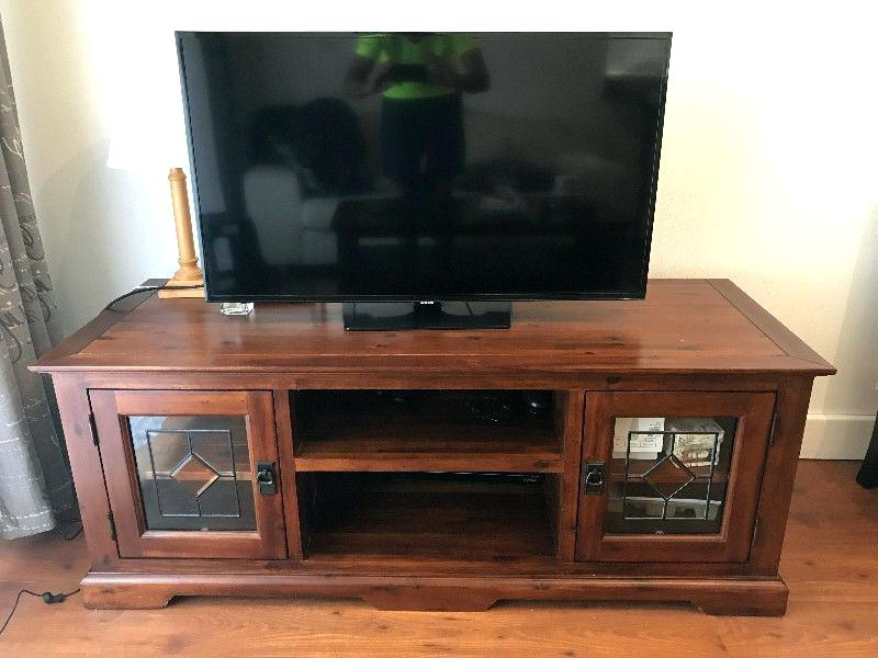 Popular Tv Stand Dark Wood Stand Cabinet Solid Dark Wood Still Available Tv In Dark Brown Corner Tv Stands (View 16 of 20)