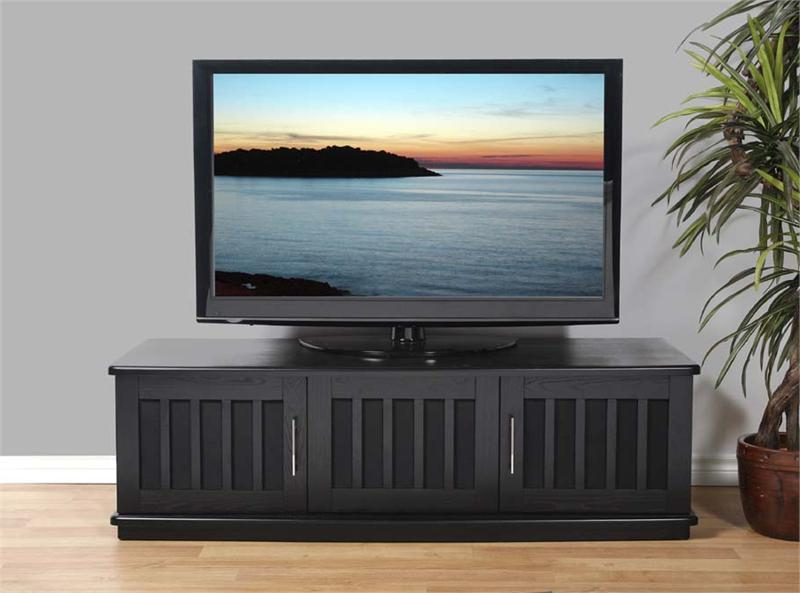 Popular Tv Stands For 43 Inch Tv Within Plateau Lsx Series Slatted Wood Tv Stand For 43 65 Inch Screens (View 13 of 20)