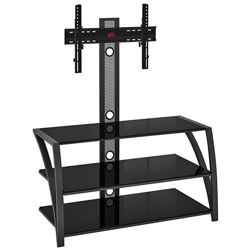 Popular Tv Stands With Mount Throughout Z Line Designs Fiore Tv Stand With Integrated Mount For Tvs Up To  (View 9 of 20)