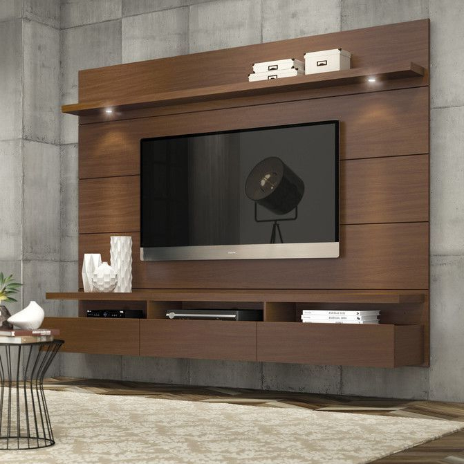Popular Wall Mounted Tv Racks Within Shop Wayfair For All Tv Stands To Match Every Style And Budget (View 9 of 20)