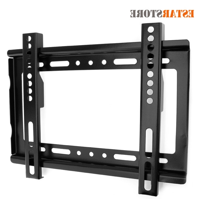 Popular Wall Mounted Tv Stands For Flat Screens With Regard To Universal Tv Stand Wall Mount Tv Bracket Holder For Most 14 ~  (View 9 of 20)