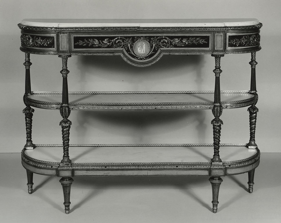 Popular Walters Media Console Tables In File:josiah Wedgwood – Console – Walters 6518 – Wikimedia Commons (View 11 of 20)