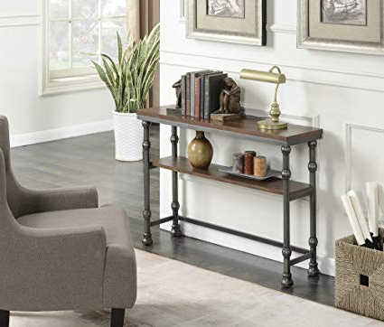 Preferred Amazon: Convenience Concepts 171199 Console Table: Kitchen & Dining Within Yukon Grey Console Tables (View 2 of 20)