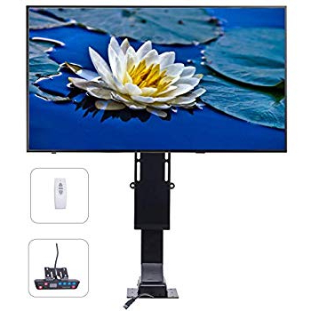 "Preferred Amazon: Whisper Ride 750 Tv Lift – For Tvs 46"" 50"": Home Audio Throughout Murphy 72 Inch Tv Stands (View 14 of 20)"