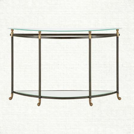 Preferred Clairemont Demilune Console Table – Crate And Barrel In Clairemont Demilune Console Tables (View 18 of 20)