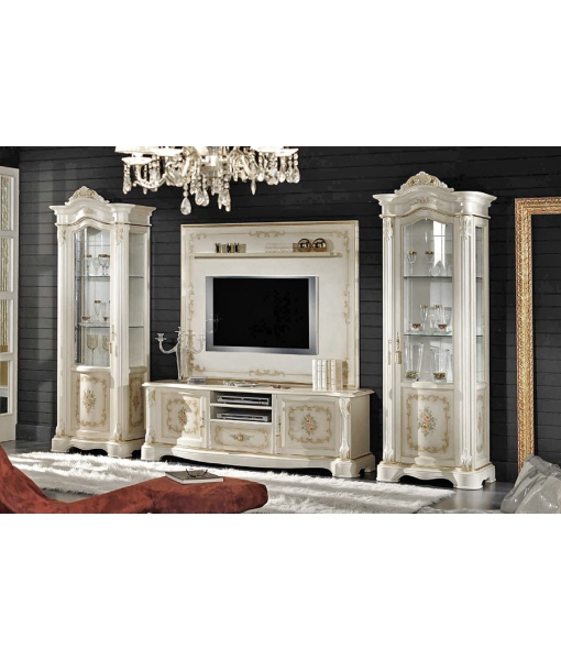 Preferred Classic Tv Stands With Decorated Classic Tv Cabinet In Wood – Ferrettohome (View 16 of 20)