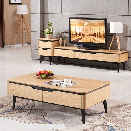 Preferred Coffee Tables And Tv Stands Within Living Room Set Living Room Furniture Home Furniture Wooden Panel (View 12 of 20)
