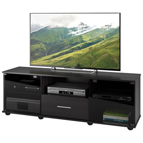 "Preferred Corliving Fernbrook 70"" Tv Stand – Black : Tv Stands – Best Buy Canada Pertaining To Valencia 70 Inch Tv Stands (View 10 of 20)"