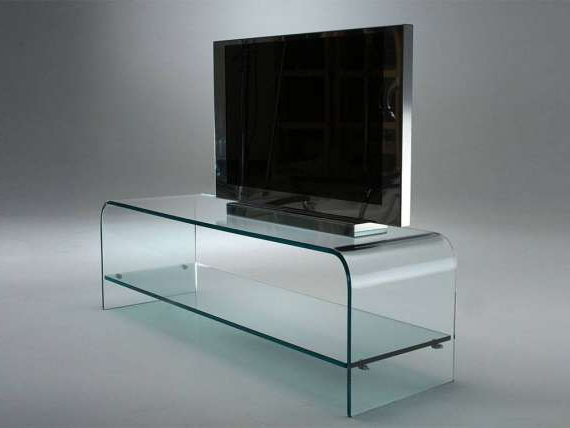 Preferred Curved Glass Tv Stand Tango For Glass Tv Stands (View 18 of 20)