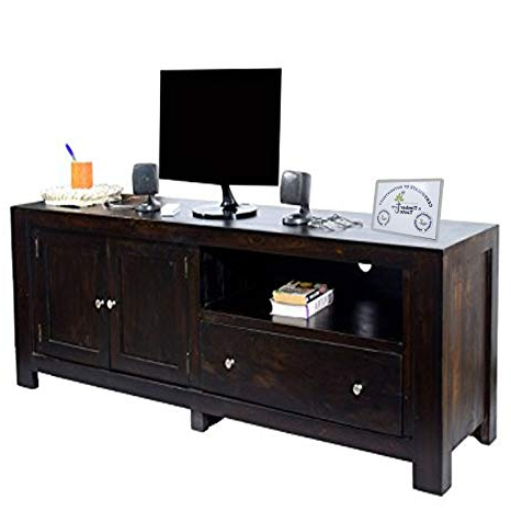 Preferred Daintree New Cuba Tv Unit Cabinet (lacquer Finish, Dark Walnut For Daintree Tv Stands (View 17 of 20)