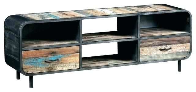 Preferred Industrial Tv Cabinets Pertaining To Rustic Industrial Tv Stand – Aftersalesservice (View 16 of 20)
