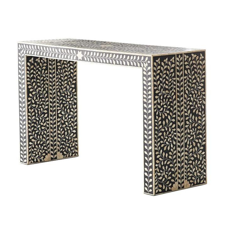 Featured Photo of Intarsia Console Tables