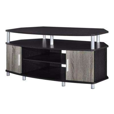 Preferred Modern Wooden Tv Stands Pertaining To Modern – Oak – Tv Stands – Living Room Furniture – The Home Depot (View 19 of 20)