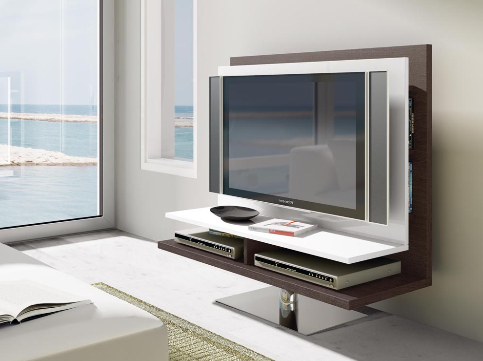 Preferred Movel Swivelling Tv Unit (View 8 of 20)