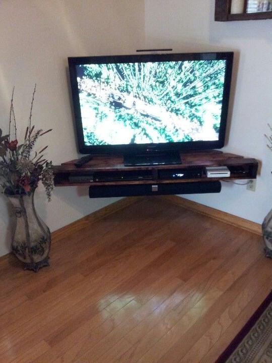 Preferred Muebles De Palets Para La Televisión (View 11 of 20)
