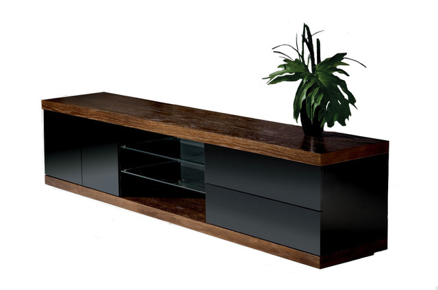 "Preferred Slim Tv Stands Intended For Hector Slim Tv Stand, 79"" – Contemporary – Entertainment Centers And (View 2 of 20)"