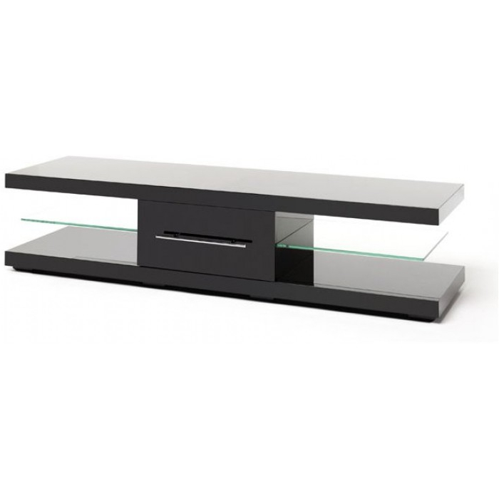 Preferred Techlink Tv Stands Intended For Techlink Echo Xl Gloss Black Ec150B (View 10 of 20)