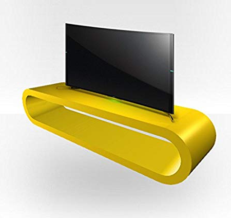 Preferred Yellow Tv Stands For Tv Stand Zestretch – Yellow Gloss: Amazon.co (View 13 of 20)