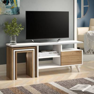 """Preston 66 Inch Tv Stands Regarding Favorite Brambly Cottage Andreas Tv Stand For Tvs Up To 48"""" & Reviews (View 16 of 20)"""