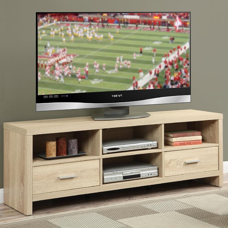 Preston 66 Inch Tv Stands With Favorite Amazon: Convenience Concepts Designs2Go Newport Ventura 60 Inch (View 10 of 20)