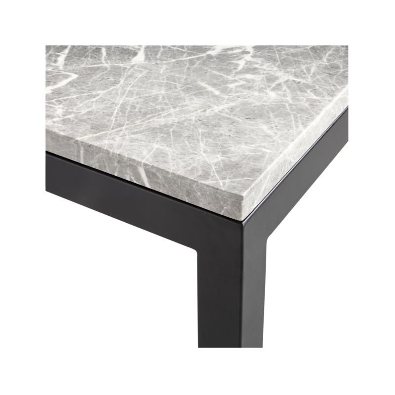 Products Regarding Well Known Parsons Black Marble Top & Dark Steel Base 48X16 Console Tables (View 19 of 20)