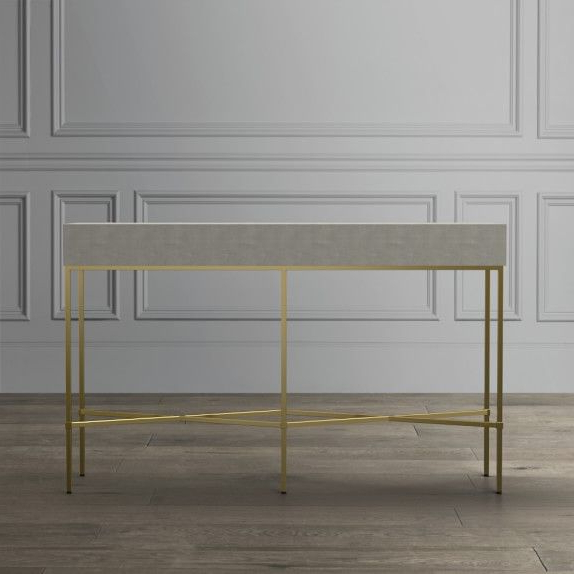 Project Board Jamaica With Faux Shagreen Console Tables (View 16 of 20)