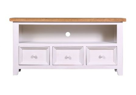 Quality Timber Tv Units – French, Country & Vintage Styles (Gallery 5 of 20)